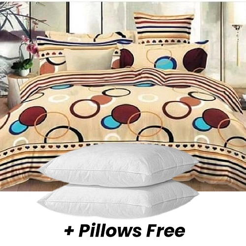 High Quality Duvet Set + 2 Free Pillows 600grams