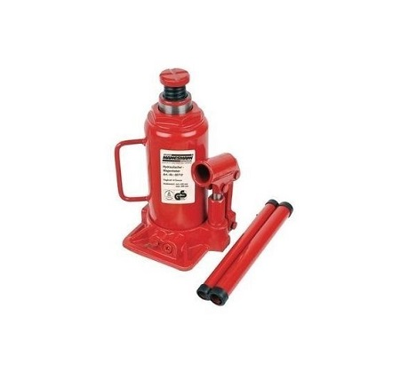 5.0 Tonnes Hydraulic Car Jack - Red