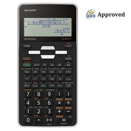 Sharp EL-531TH - 422 Functions Scientific Calculator - White