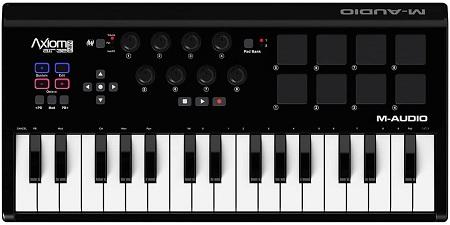 M-Audio Axiom AIR Mini 32 | Ultra-Portable 32 Key USB MIDI Keyboard