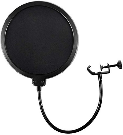 Microphone Pop Filter For Blue