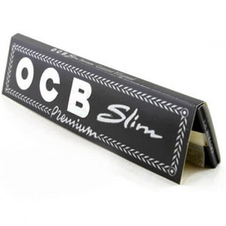 OCB Rolling Papers Full Box, King, White- 3 Packs