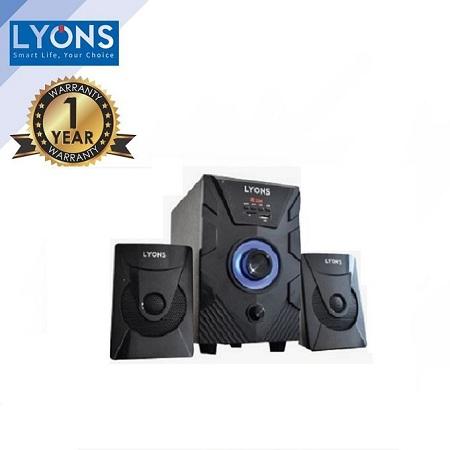 Lyons ELP-2562- 2.1CH Multimedia Speaker System