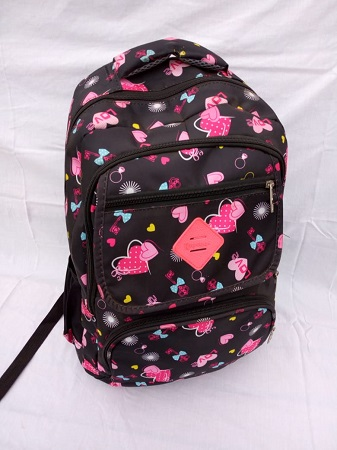 Black and Pink Girls bag