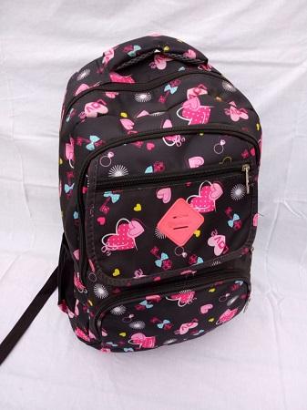 Black and Pink Girls bag