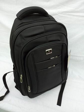 UNISEX Black School Bag