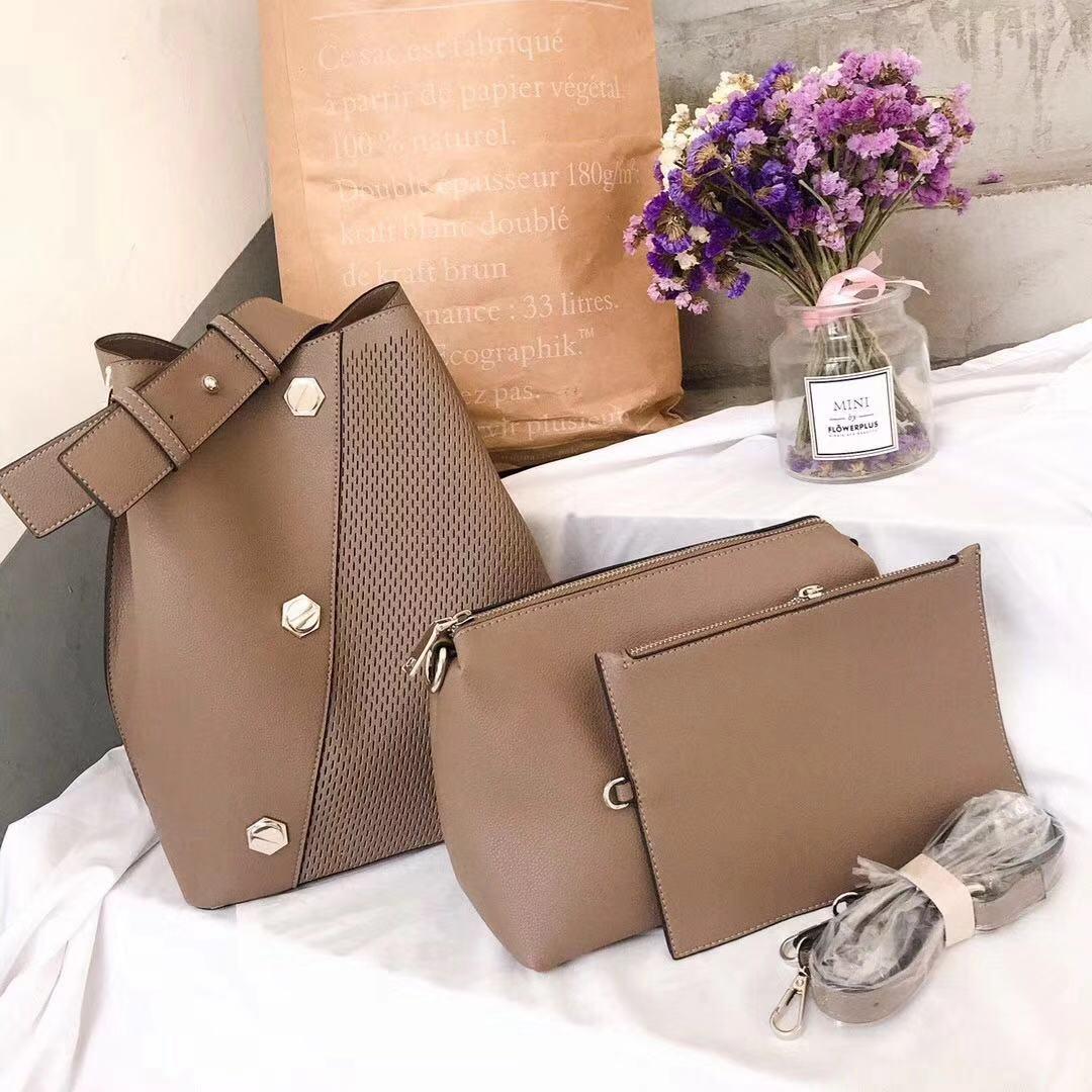 Camel  3piece handbag set