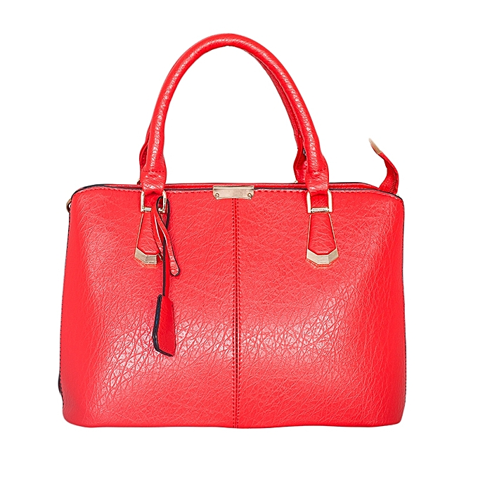 TIFFY COLLECTION Red Pu Leather Handbag