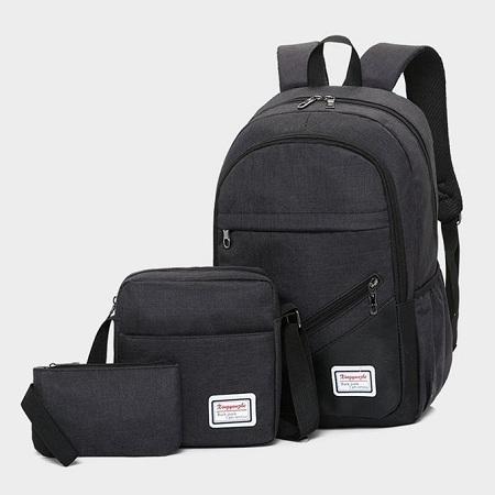 Fashion 3pcs/set Bags Backpack