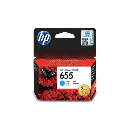 HP 655 - CZ110AE - Ink Cartridge - Cyan
