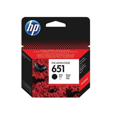 HP CARTRIDGE 651 BLACK
