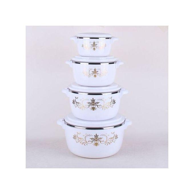 Generic Hot Pot Insulated Casserole 4 Pc Set