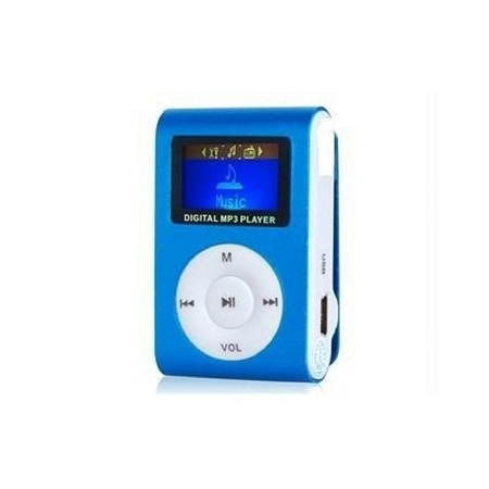 Generic MP3 Player With Display And FM Radio