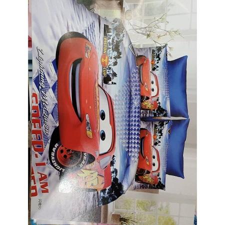 Hot sale kids high quality 4*6 cartoon themed duvet.(McQueen cartoon