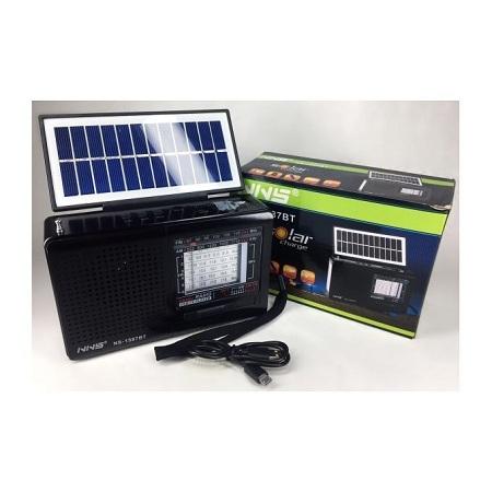 Generic NNS NS1587BT Solar Radio With Bluetooth & USB