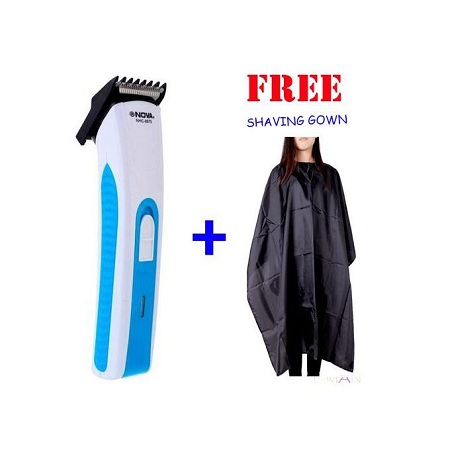 Nova Rechargeable Shaver + FREE Shaving Gown