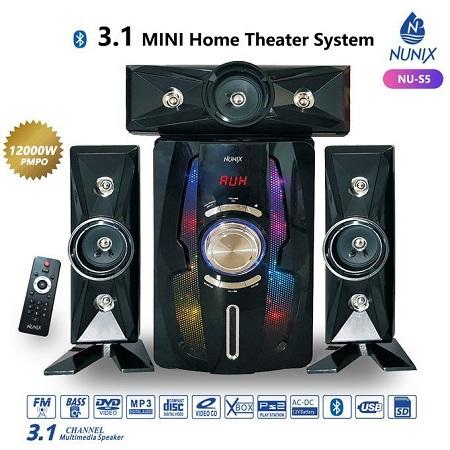 Nunix 3.1Ch MINI Home Theater Speaker System