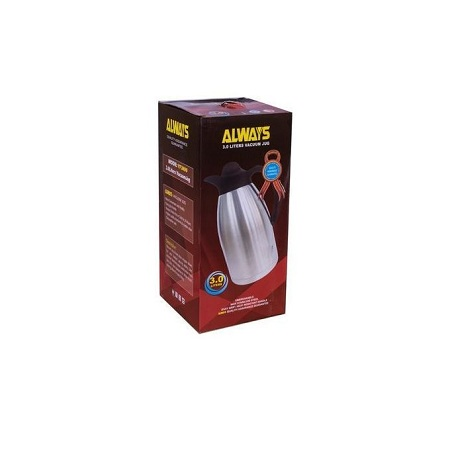 Always Stainless Steel Always Vacuum Flask 3L - Silver