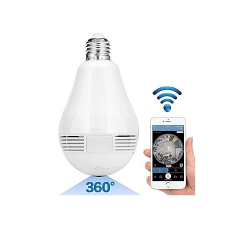 360° Panoramic CCTV LED BULB Camera - 960P