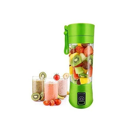 Portable and a rechargeable Blender with a free USB