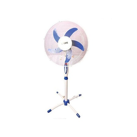 Lyons Stand Fan Powerful Blue