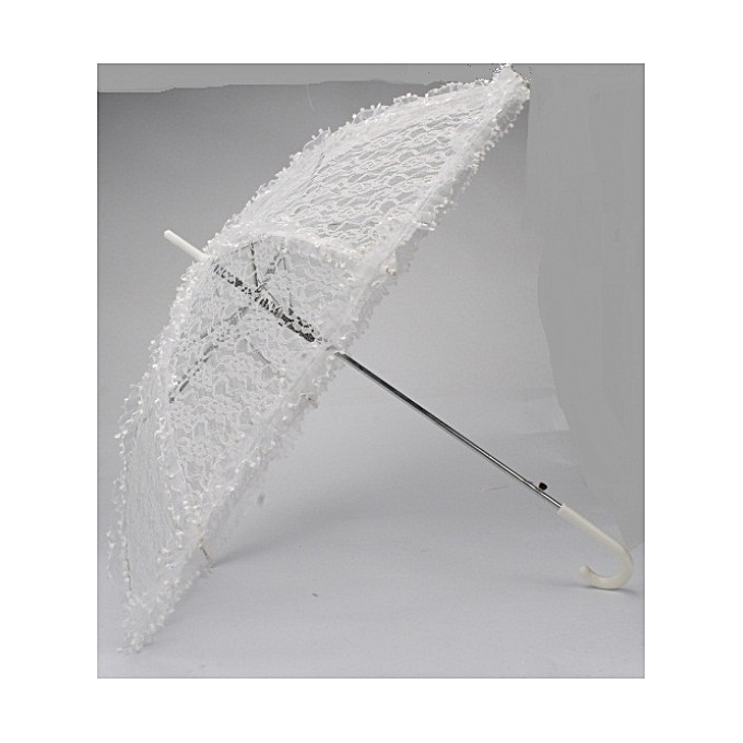 Generic White Lace Umbrella, Wedding Umbrella, Bridal Shower Umbrella, Parasol, Bridal Umbrella, Hanging Fancy Umbrella