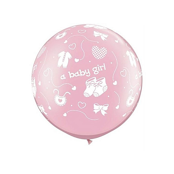 Generic ITS A GIRL BALLOONS 10pcs 12inch Balloon Party Decoration Newborn Balloon For Baby Shower Decoration