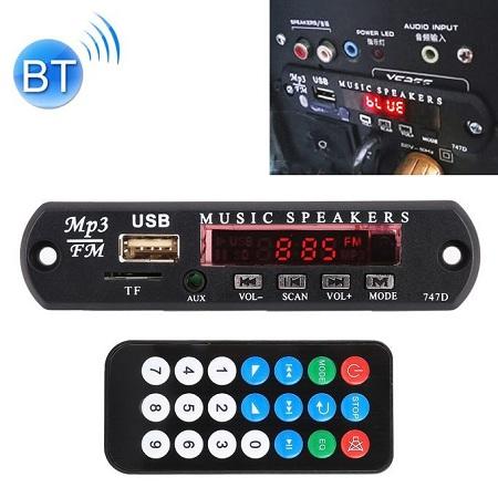 Generic 12V Audio MP3 Player Decoder Board FM Radio USB