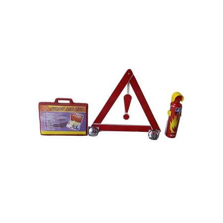 Generic Life Saver+ Fire Extinguisher + First Kit + Convex Mirrors