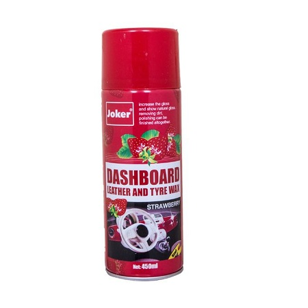 Joker Dashboard,Leather and Tyre wax Polish Strawberry