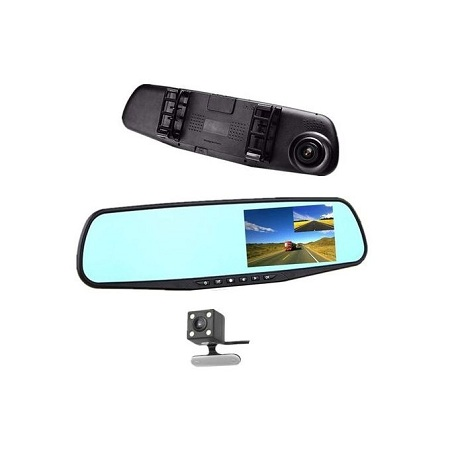 Generic Car DVR Rear view Mirror Video Recroder 4.3