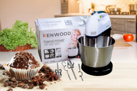 Electric Handmixer With Bowl