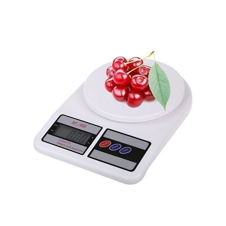Electronic Kitchen Digital Weighing Scale, Multipurpose, White,10kg