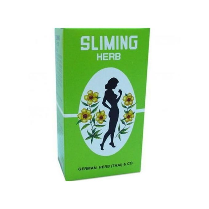 German Herb (Thai) & Co German Herb Slimming Tea - 50 Tea Bags Weight Reduction Detox Laxative