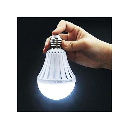 Energy Saving LED Intelligence Emergency Bulb White