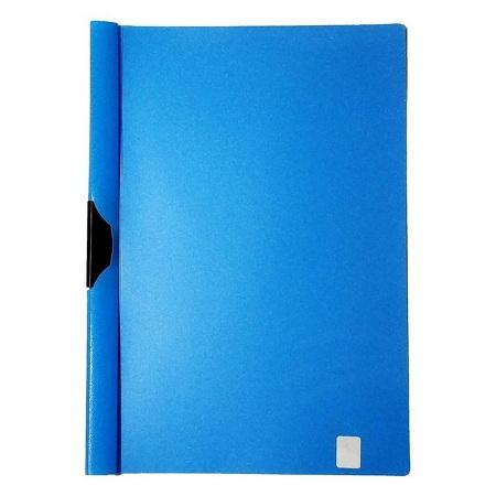 Essentials A4 Metal Clip File/061171A0 (BLUE)