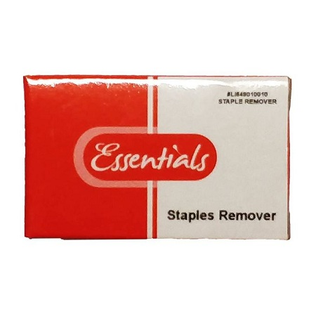 Essentials Staple Remover/L1649010010 (BLACK)