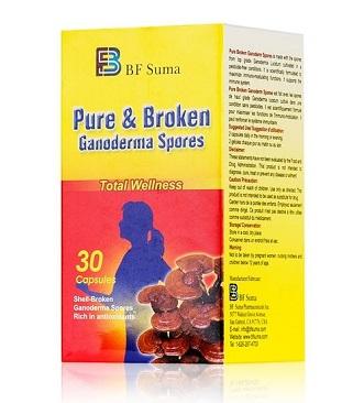 Suma Pure & Broken Ganoderma Spores Capsules-30 Capsules