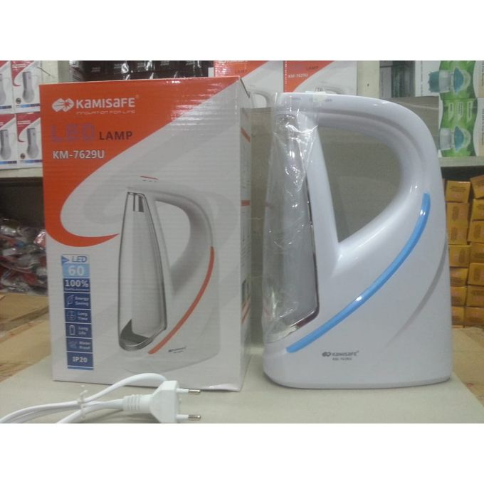 Kamisafe Multifunctional LED Emergency Lamp With USB Charging Port-White