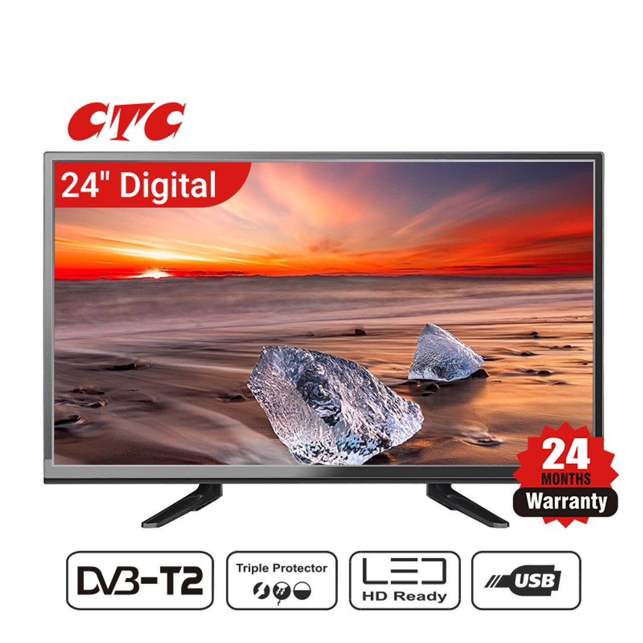 CTC LED Digital TV 24 inch