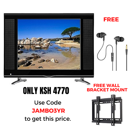 Shark 22 Inches AC/DC Digital TV & Free Earphones and Wall Bracket