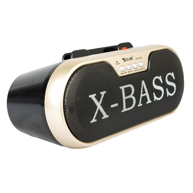 Golon RX-BT190S X-Bass Wireless Speaker - Black