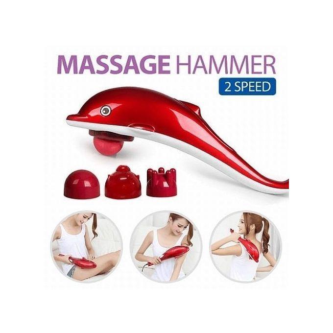 Dolphin Single Head Body Massager Infrared Hammer 1 Head