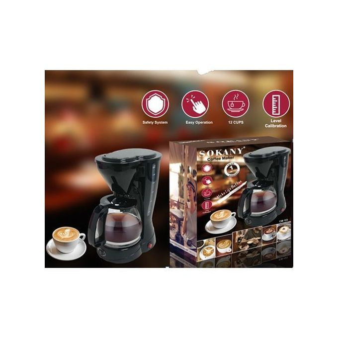 Sokany  Coffee Maker Machine For 12 Cups