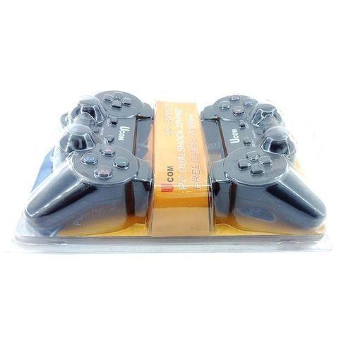 UCOM PC USB Dualshock JoyPad(Gamepads) - Black