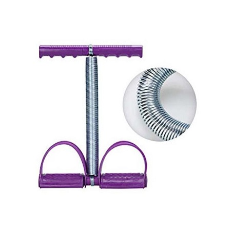Generic Tummy Trimmer For Physical Fitness - Purple - one size