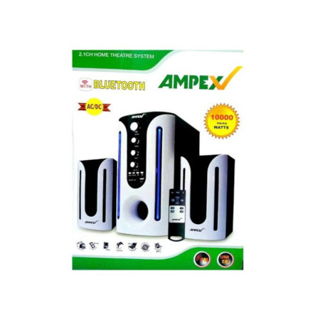 Ampex SubWoofer Home Theater Systems 10,000W - BT/USB/SD