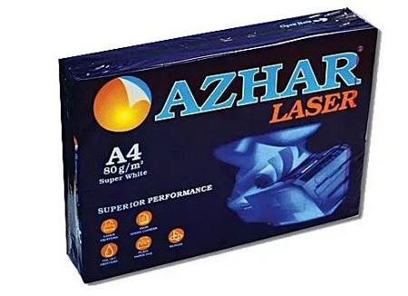 A4 Size Azhar Photocopy Papers (@350 Per Ream) - 5 Reams