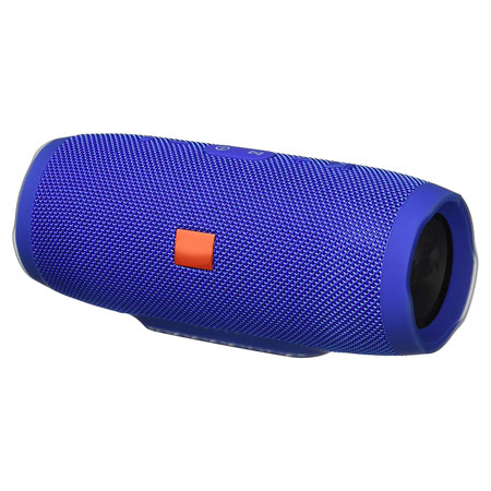 Charge 3 Waterproof Portable Bluetooth Speaker- Blue