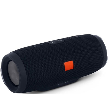 Charge 3 Waterproof Portable Bluetooth Speaker- Black